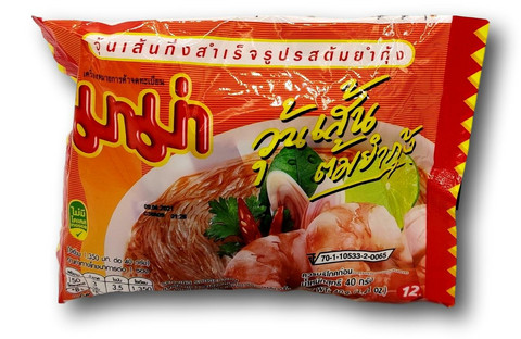 Instant Glass Noodle Tom Yum Soup