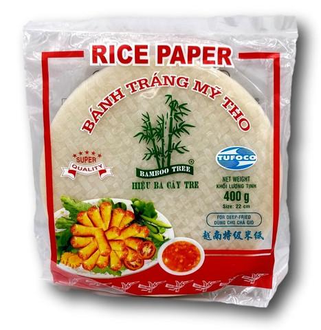 Riisipaperi kevätkääryleille