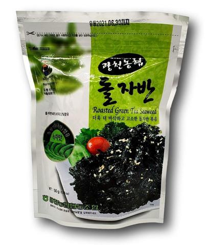 Roasted Green Tea Seaweed