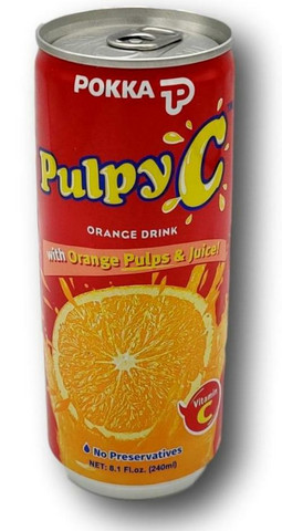 Pokka C oranssi juoma