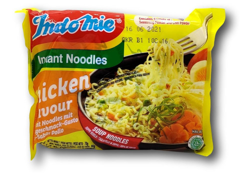 Instant Noodle Chicken