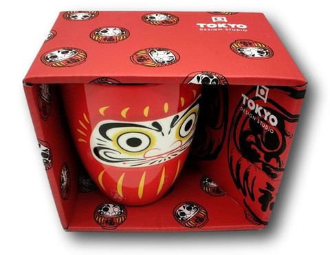Daruma Mug W/Giftbox Large Face
