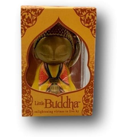 Little Buda Keychain Yellow 4,5 cm