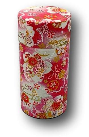 Teelaatikko Vaaleanpunainen kukka 7,4x15,5cm