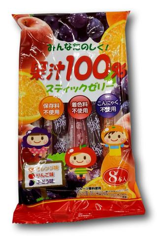 Ribon Fruit Juice 100% Stick Jelly