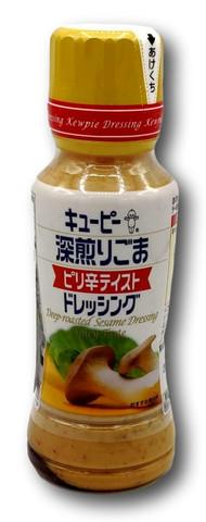 Qp Roasted Sesame Dressing Sauce Spicy 180ml bottle Japan
