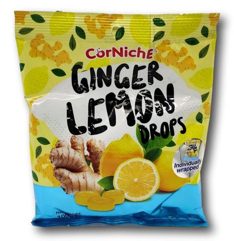 Ginger Hard Candy With Lemon Flav.