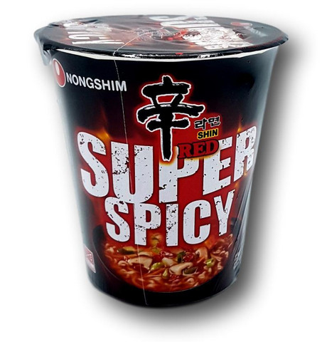 Shin Red Super Spicy Cup Noodles