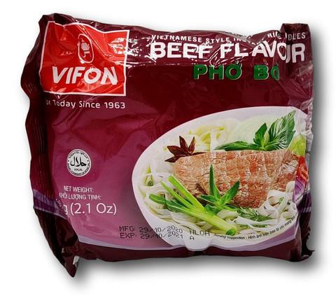 Naudanliha riisinuudeli