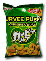 Shirakiku Curvee Puffs Corn Snack Cheese Flavor