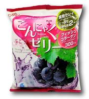 Japanilainen Konjac Jelly, viinirypäle