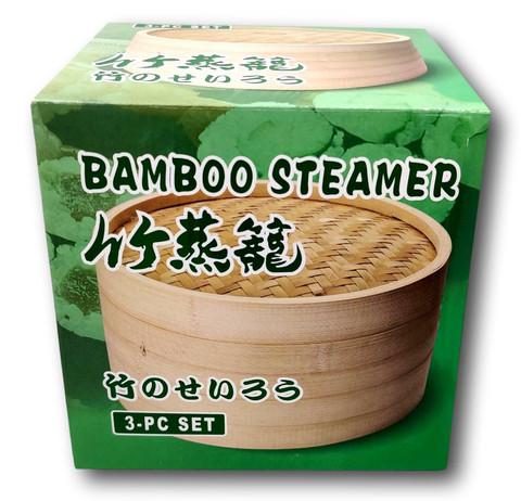 Bamboo Steamer 15 cm/1 SET