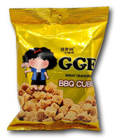 WeiLih GGE Wheat Crackers BBQ Cube
