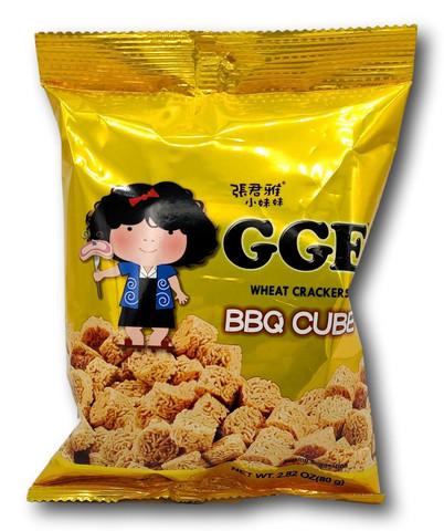 WeiLih GGE Wheat Crackers BBQ Cube