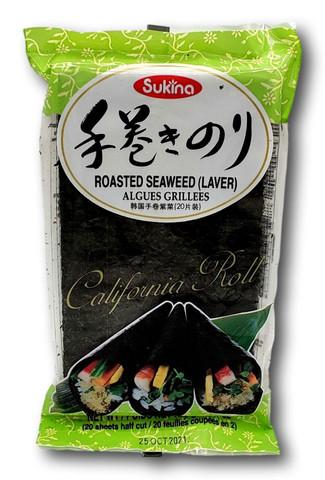 Roasted Seaweed (laver)