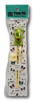 Lasten syömäpuikot Sammakko 22cm vihreä