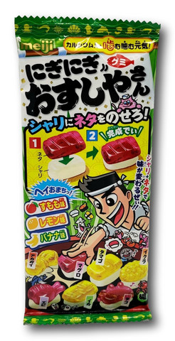 Meiji DIY Nigi Nigi Osushiyasan Gummy