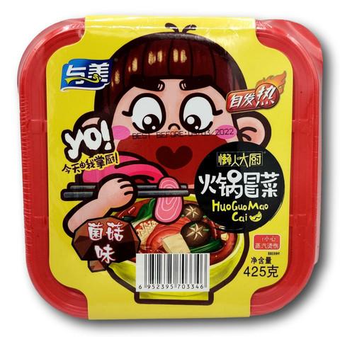 Yumei Inst Veg Hot Pot Fungus Mushr Fl 425g