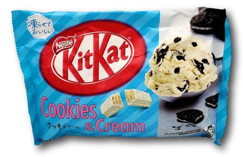 Nestle KitKat Cookie & Cream Fl 128,7g