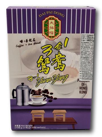 Dai Pai Dong 3 in 1 Yuan Yang Coffee + Tea 170g