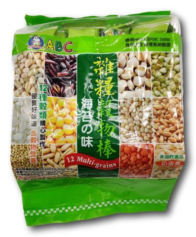 ABC 12 Multi Grains Rice Roll Seaweed 180g