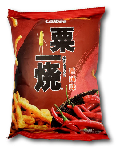 Calbee Grill A Corn - Hot & Spicy 80g