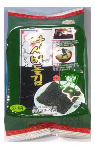 Seasoned Laver Wasabi