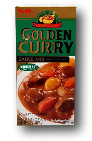 Medium Hot Golden Curry  92 g