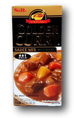 Hot Golden Curry 92 g