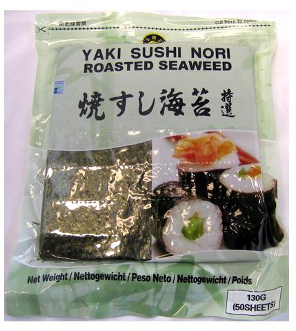 Yaki Sushi Nori Roasted Seaweed 50pcs