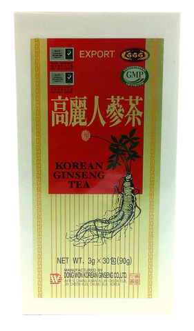 Korean Ginseng Tea Wooden box