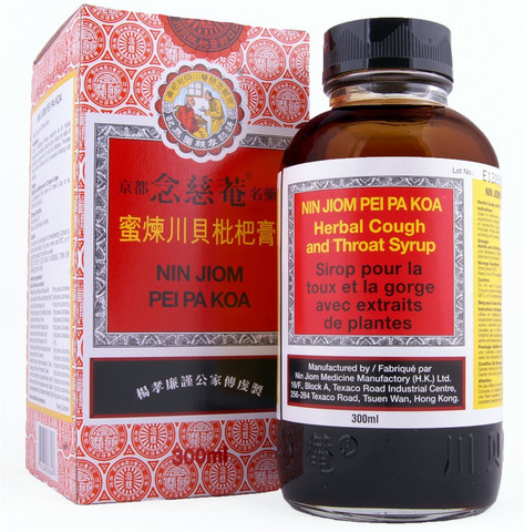 Nin Jiom Pei Pa Koa Natural Herbs Loquat & Honey Extract 150 ml