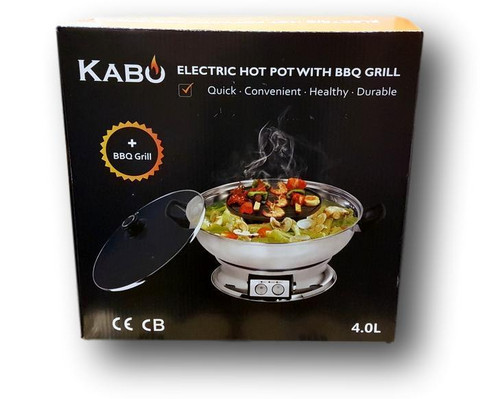 Electrical Hot Pot w/BBQ Grill