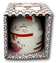 Lucky Cat Cup Pink 8.5x9.8cm 350ml