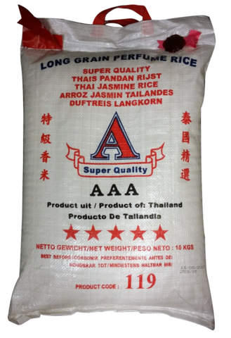 Thai Jasmine Rice 10 kg