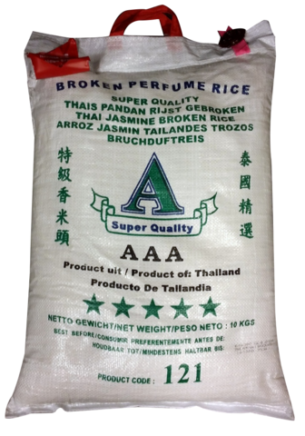 Thai Broken Jasmine Rice 10 kg