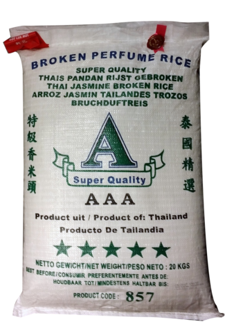 Thai Broken Jasmine Rice 20 kg