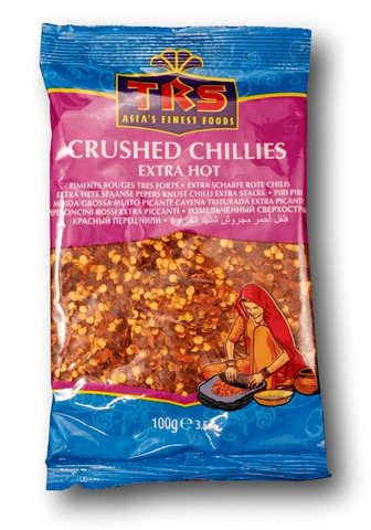Crushed Extra Hot Red Chilies