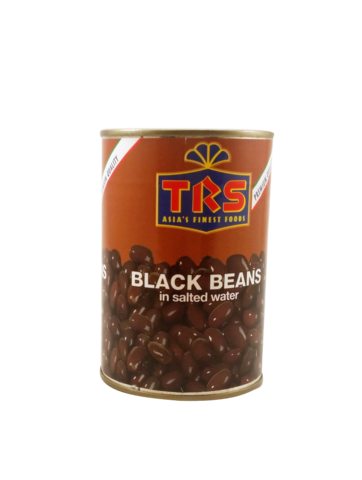 Black Beans in Salted Water