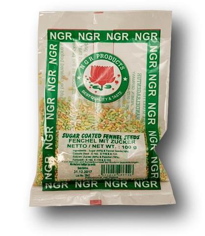Sokeripäällysteiset fenkolinsiemenet