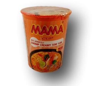Instant Cup Rice Noodle Shrimp Creamy Tom Yum Soup