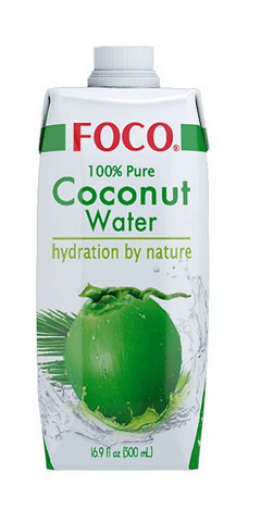 Foco 100% Coconut Water 500 ml