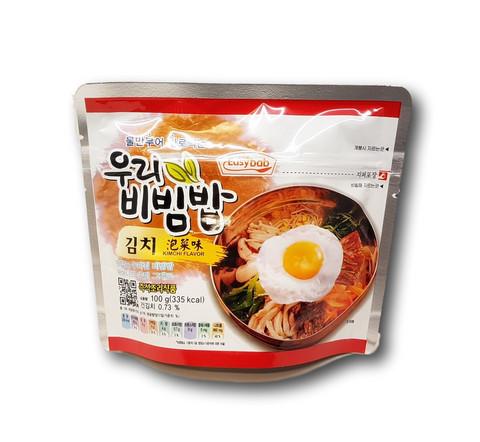 Instant Bibimbap Rice With Kimchi