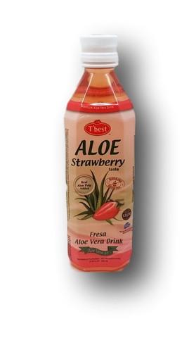 Aloe Vera Drink Strawberry 500ml