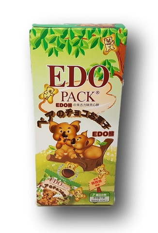 Edo Bear Chocolate Flavor Biscuits