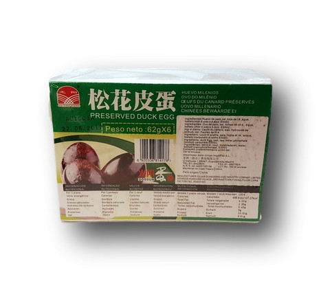 GUANG YANG Preserved Duck Egg 6 pcs