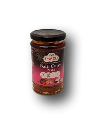 Balti curry tahna