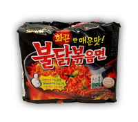 Hot chicken stir-fried noodle 5 x 140g/bag