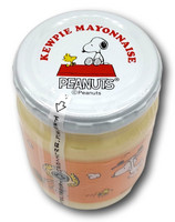 Qp Mayonnaise in Snoopy Jar