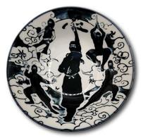 Japanilainen Ninja riisikulho 14.8x7cm 500ml